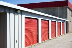 a self-storage facility