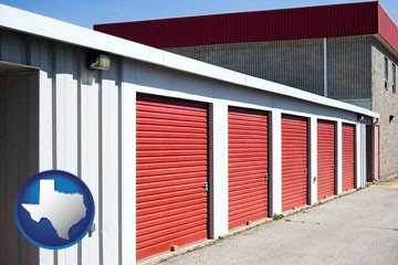 a self-storage facility - with Texas icon